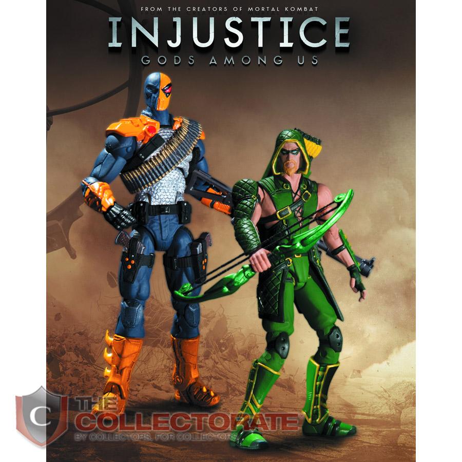DC Injustice Deathstro...